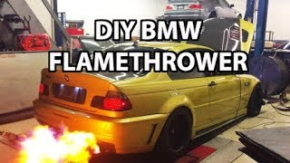 Download How to Make Your BMW M3 Shoot FLAMES! Video