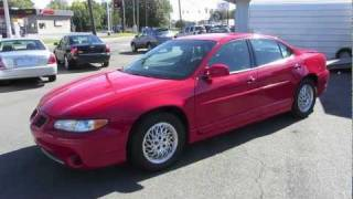Download 1998 Pontiac Grand Prix GT Start Up, Exhaust, and In Depth Tour Video