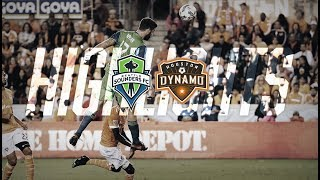 Download Highlights: Seattle Sounders FC at Houston Dynamo | November 21, 2017 Video