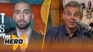 Download Nick Wright and Colin Cowherd on winners and losers in Kawhi's trade to Toronto | NBA | THE HERD Video