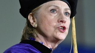 Download Hillary Clinton uses commencement address to attack Trump Video