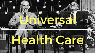 Download Milton Friedman on universal health care Video