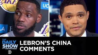 Download LeBron James's China Remarks, Gina Rodriguez's N-Word Backlash & Google's Pixel 4 | The Daily Show Video