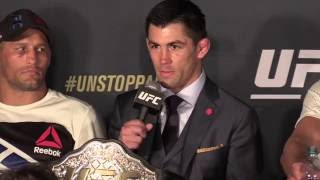 Download Dominick Cruz and Urijah Faber Rivalry Spills Over to UFC 199 Post-Presser Video