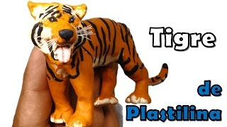 Download ✅ COMO HACER UN TIGRE DE PLASTILINA PASO A PASO ✅ MI MUNDO DE PLASTILINA - MY CLAY WORLD Video
