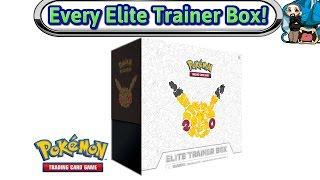 Download Opening Every Elite Trainer Box Made - Generations - Pokemon TCG Unboxing Video