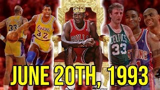 Download The Day Michael Jordan OFFICIALLY Became The GOAT Video