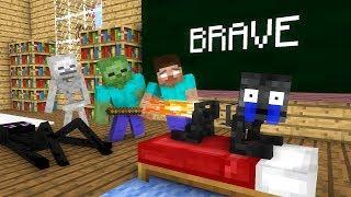 Download Monster School: Brave - Minecraft animation Video