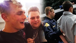 Download Jake Paul House VANDALIZED! Nick Crompton CALLS Police on YouTuber at Team 10 House Video