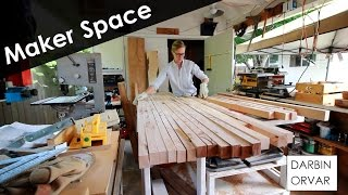 Download Building a MakerSpace - Cabinets and Counter Part 2 Video