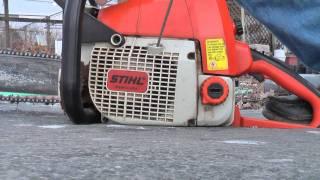 Download Stihl 039 Chainsaw Spring Start Video