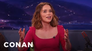 """Download Emilia Clarke Accidentally Crashed A """"Game Of Thrones"""" Wedding - CONAN on TBS Video"""