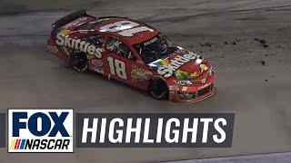 Download Kurt and Kyle Busch Collide, Narrowly Avoid Disaster - Bristol - 2014 NASCAR Sprint Cup Video