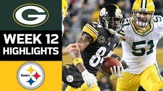 Download Packers vs. Steelers | NFL Week 12 Game Highlights Video