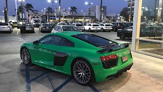 Download Just bought the 2018 Audi R8 V10+! Video