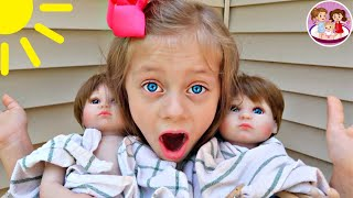 Download 😨WHAT⁉️ 2 BABY DOLLS DROPPED OFF at our HOUSE‼️ 👶🏻👶🏼 Video