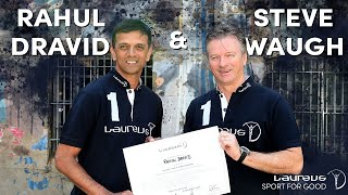 Download Rahul Dravid and Steve Waugh in London - Laureus Sport for Good Foundation Video
