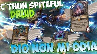 Download FUNZIONA DAVVERO!! C'THUN SPITEFUL DRUID!! [HEARTHSTONE ITA] Video