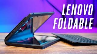 Download Lenovo ThinkPad X1 Fold hands-on Video