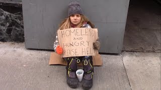 Download Would You Help A Homeless Child Left On The Street? Video
