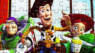 Download Disney TOY STORY Puzzle Games Jigsaw Puzzles Rompecabezas Potato Head, Woody, Buzz Lightyear Video