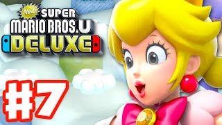 Download New Super Mario Bros U Deluxe - Gameplay Walkthrough Part 7 - Meringue Clouds! (Nintendo Switch) Video