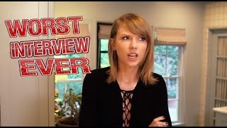 Download Taylor Swift - Worst Interview Ever! Video