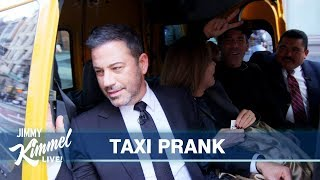 Download Jimmy Kimmel Surprises New Yorkers in a Cab Video