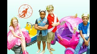 Download New Sky Kids Super Episode - High Top Princess Friendship Lessons and the Pink Princess Carriage Video