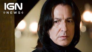 Download J.K. Rowling Reveals Severus Snape Secret - IGN News Video