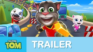 Download Talking Tom Gold Run - Official Launch Trailer Video
