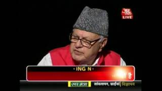 Download Third Degree: Farooq Abdullah Questioned Over Kashmir-Pakistan Issue Video