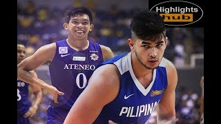 Download Kobe Paras Vs. Thirdy Ravena | Ateneo Vs. Gilas Game Highlights + Slowmo Montage Video
