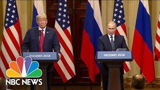 Download Special Report: Trump and Putin meet in Helsinki, Finland Video