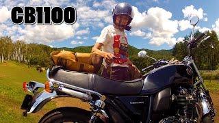 Download CB1100 遅い女性ライダーのNG集 バイク ツーリング 動画撮影 Video