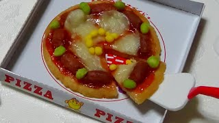 Download You can eat 🍕 DIY Pizza shaped Candy Kit - happy kitchen 6 可吃 Video