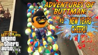 Download Adventures of Buttman #6: NEW YEARS CHEERS (Annoying Orange GTA V) Video