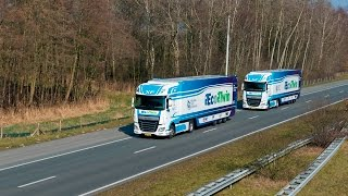 Download 'EcoTwin' participating in the European Truck Platooning Challenge Video