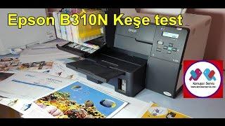Download Epson B310N + B510dn kuşe test Video