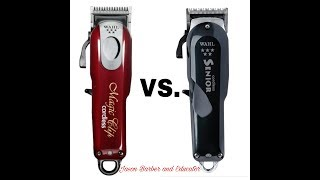 Download Is the Wahl Cordless Senior craze ALL HYPE?? Senior VS. Magic Clip review  2 VIDEOS IN 1 Video