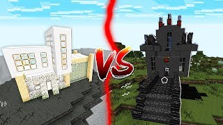 Download BLACK HOUSE VS WHITE HOUSE IN MINECRAFT! Video