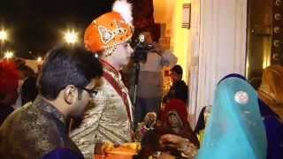 Download Raj Chauhan weds Jiya Nathawat 17th feb 2014 at Rambagh Place, Jaipur Video