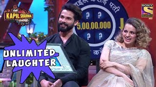 Download Shahid & Kangana Laugh Endlessly - The Kapil Sharma Show Video