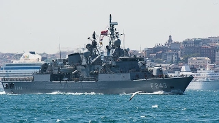 Download U.S. Navy Destroyer Has Close Encounter With Iranian Vessel Video