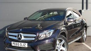 Download PE65OJZ Mercedes Benz Gla Class Gla 200d Amg 5dr Video