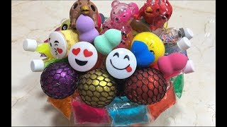 Download Mixing Store Bought Slime Into Clear Slime | Most Satisfying Slime Video #1| Boom Slime Video