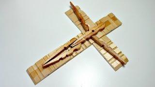 Download TUTORIAL: Cómo hacer una cruz con pinzas de la ropa | Reciclaje | Mundo@Party Video