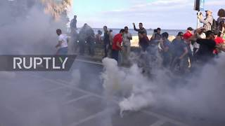Download Italy: Violence breaks out at anti-G7 march Video