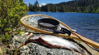 Download Catch, Cook and Camp Ep. 5 * Fishing Under a Volcano! * Two Night SOLO Adventure in Siskiyou Video