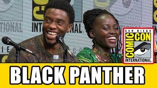 Download BLACK PANTHER Comic Con Panel News & Highlights Video